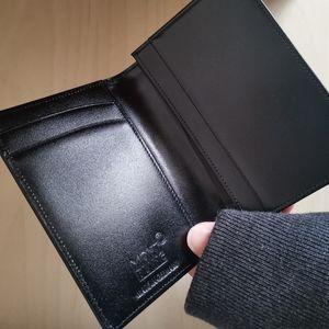 Montblanc Accessories - NWOT Montblanc Meisterstück Business Card Holder